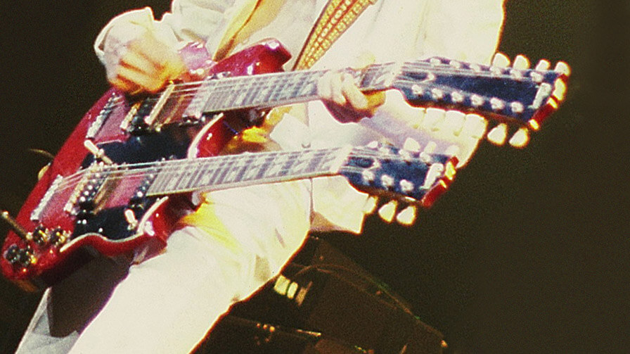 Jimmy Page Doppelhals Gibson - Gitarre lernen - Blog